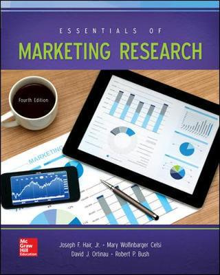 Essentials Of Marketing Research 4th Edition