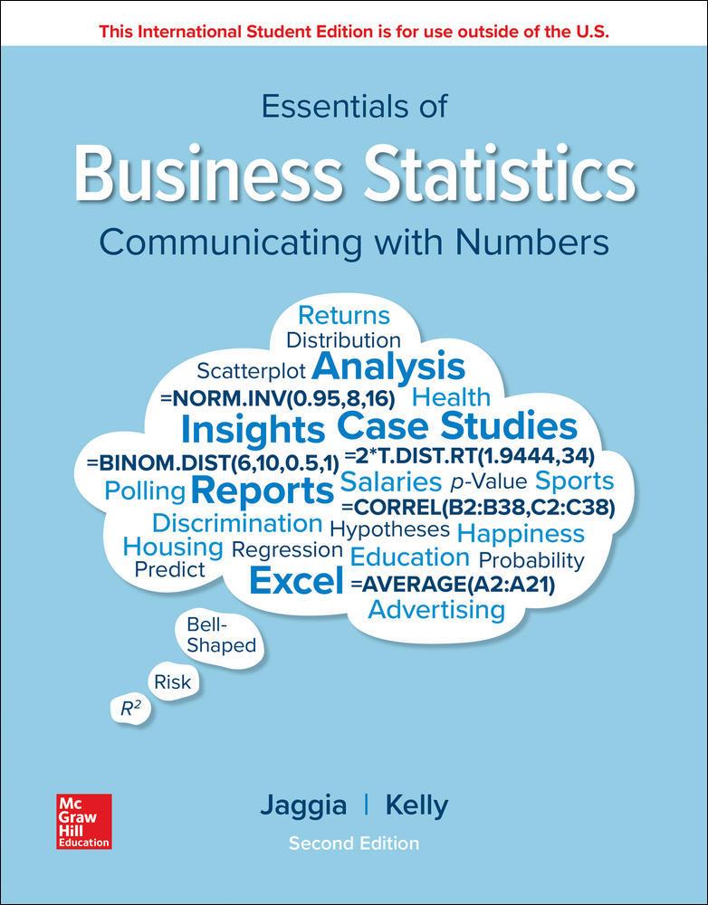 ISE Essentials of Business Statistics