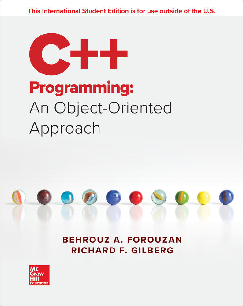 ISE C++ Programming: An Object-Oriented Approach