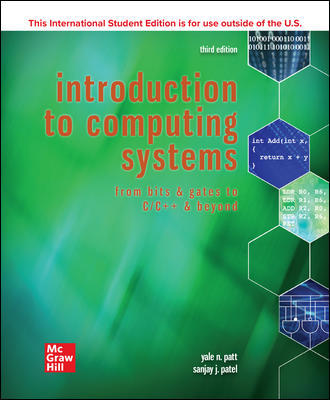 ISE Introduction to Computing Systems: From Bits & Gates to C/C++ & Beyond