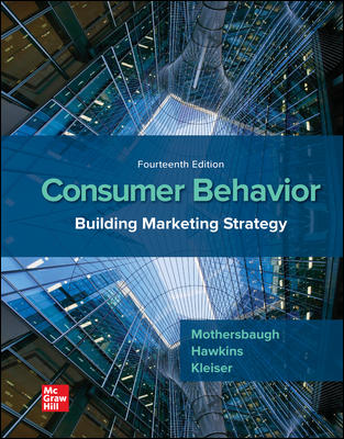 ISE Consumer Behavior: Building Marketing Strategy