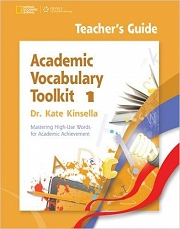 Academic Vocabulary Toolkit 1: Teacher's Guide with Professional Development DVD