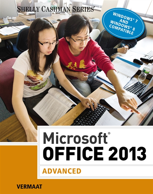 Microsoft® Office 2013: Advanced (hardcover, spiral-bound) : Advanced