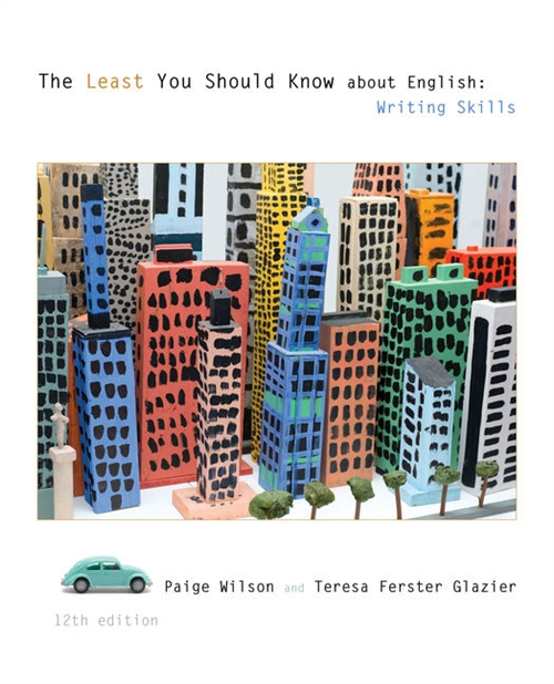 The Least You Should Know About English : Writing Skills