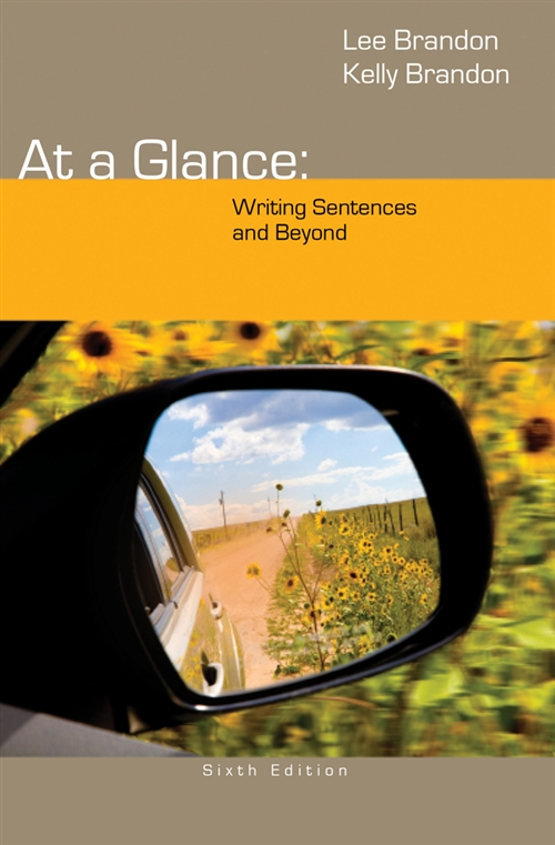 At a Glance : Writing Sentences and Beyond