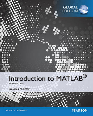 Introduction to MATLAB, Global Edition
