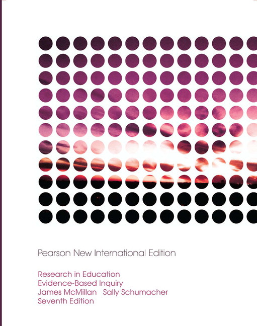 Research in Education, Pearson New International Edition