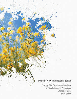 Ecology: The Experimental Analysis of Distribution and Abundance, Pearson New International Edition