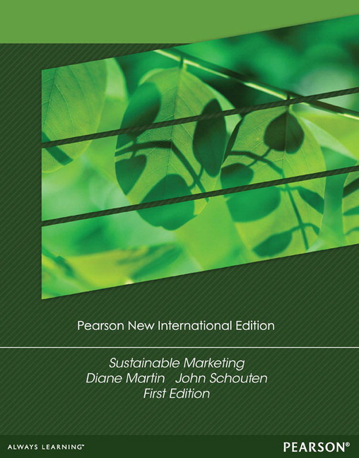 Sustainable Marketing, Pearson New International Edition
