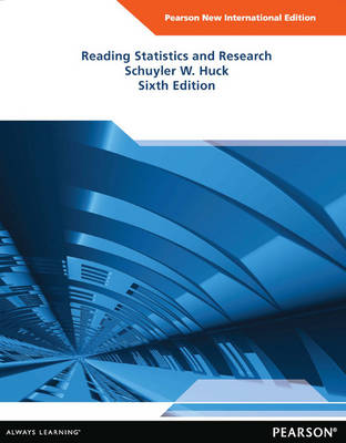 Reading Statistics and Research, Pearson New International Edition