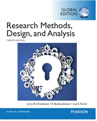 Research Methods, Design and Analysis, Global Edition