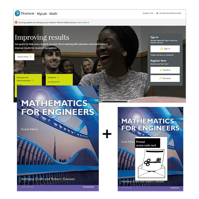 Mathematics for Engineers + MyLab Math with eText
