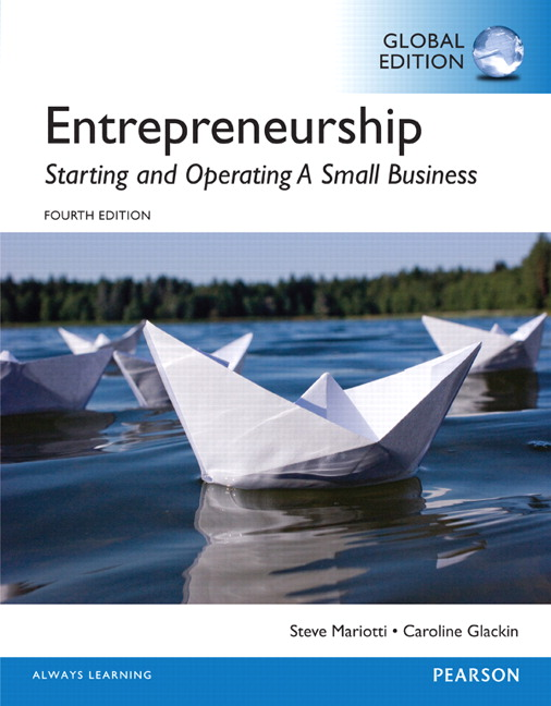 Entrepreneurship: Starting and Operating a Small Business, Global Edition
