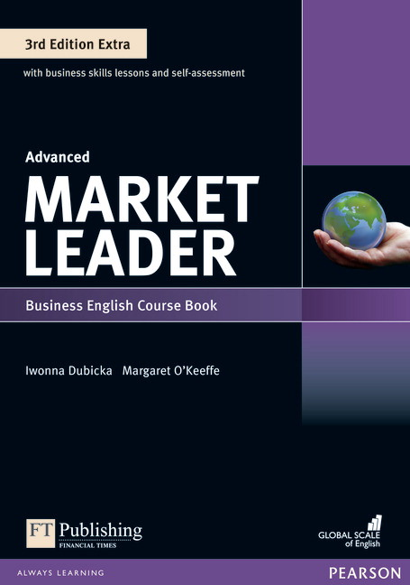Market Leader Extra Advanced Course Book with DVD + MyEnglishLab