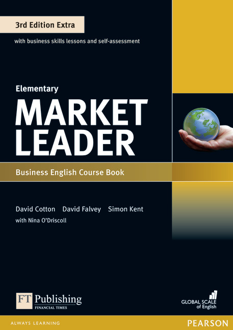 Market Leader Extra Elementary Course Book with DVD