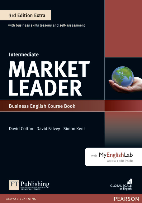 Market Leader Extra Intermediate Course Book with DVD-Rom & MyEnglishLab