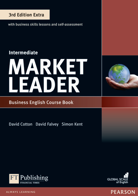 Market Leader Extra Intermediate Course Book + DVD