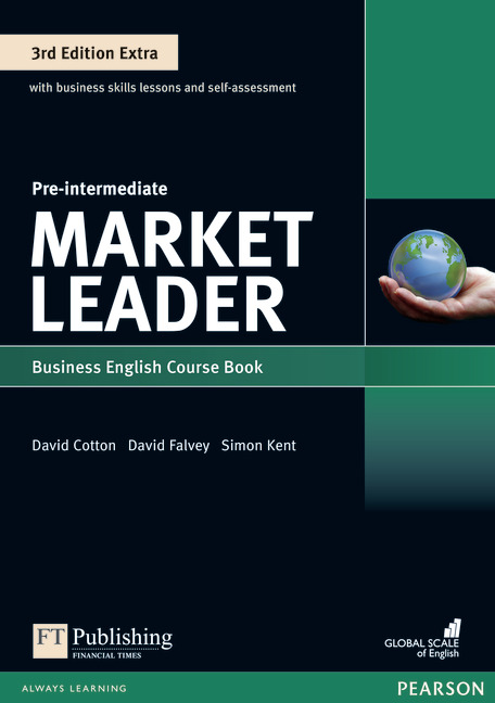 Market Leader Extra Pre-Intermediate Course Book with DVD