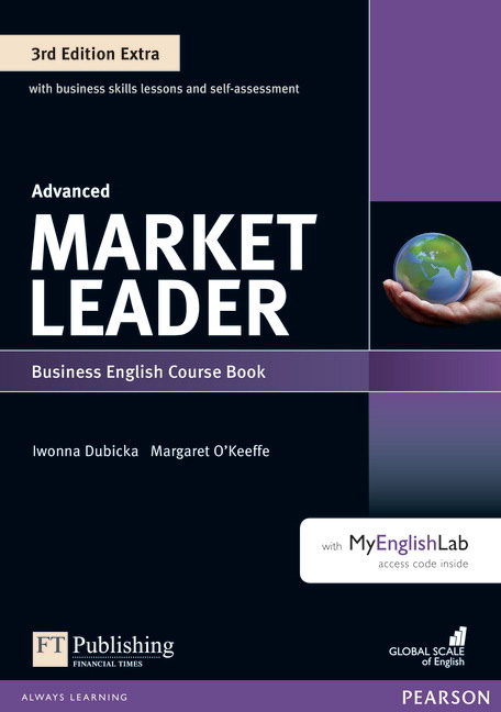 Market Leader Extra Advanced Course Book with DVD