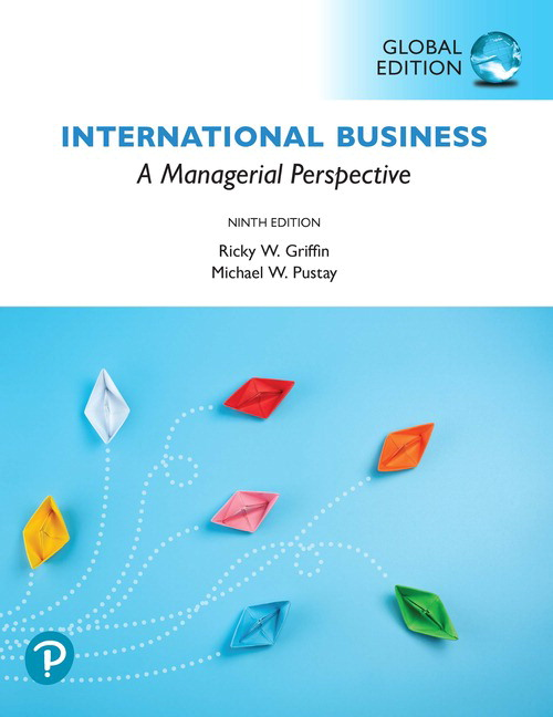 International Business: A Managerial Perspective, Global Edition