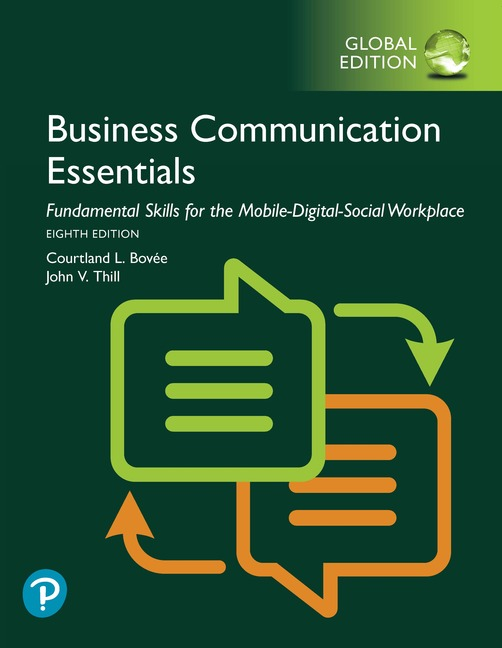 Business Communication Essentials, Global Edition