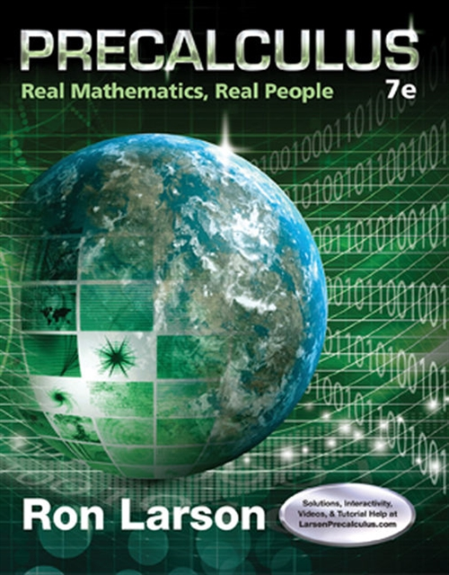 Precalculus : Real Mathematics, Real People