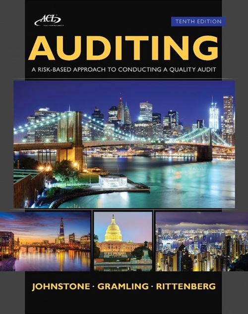 Auditing : A Risk Based-Approach to Conducting a Quality Audit