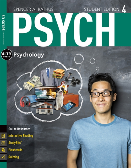 PSYCH (with PSYCH Online, 1 term (6 months) Printed Access Card)