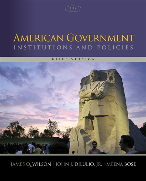 American Government : Institutions and Policies, Brief Version