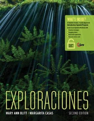 Exploraciones (with iLrn Heinle Learning Center, 4 terms (24 months) Printed Access Card)