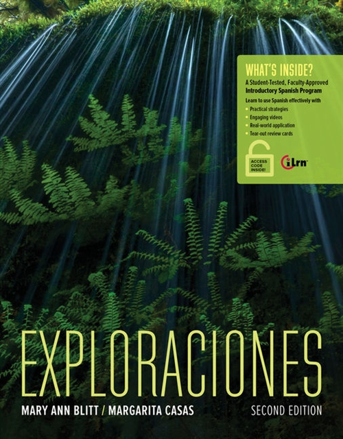 Exploraciones (with Student Activities Manual and iLrn Heinle Learning Center, 4 terms (24 months) Printed Access Card)