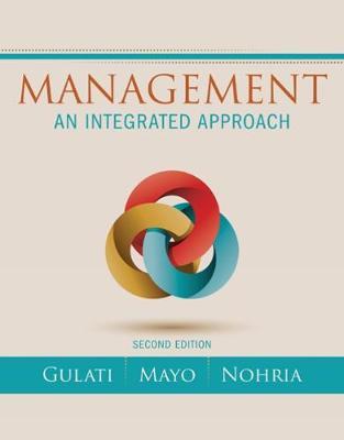 Management : An Integrated Approach
