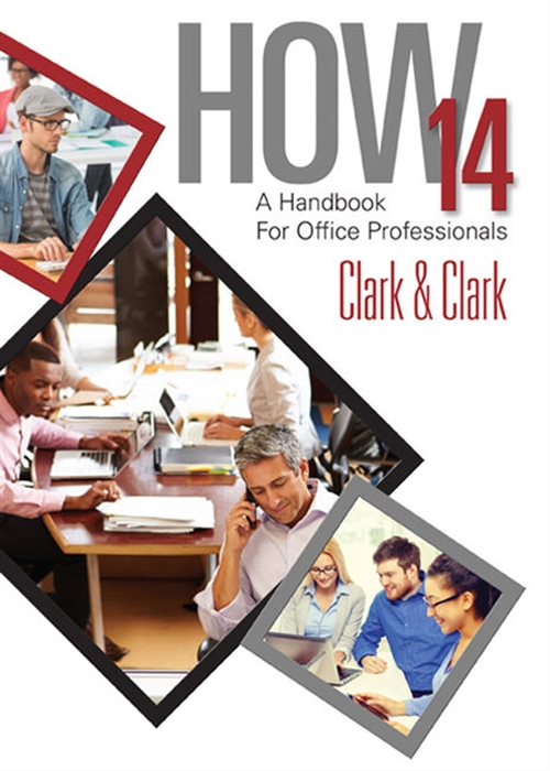 Workbook for Clark/Clark's HOW 14: A Handbook for Office Professionals, 14th