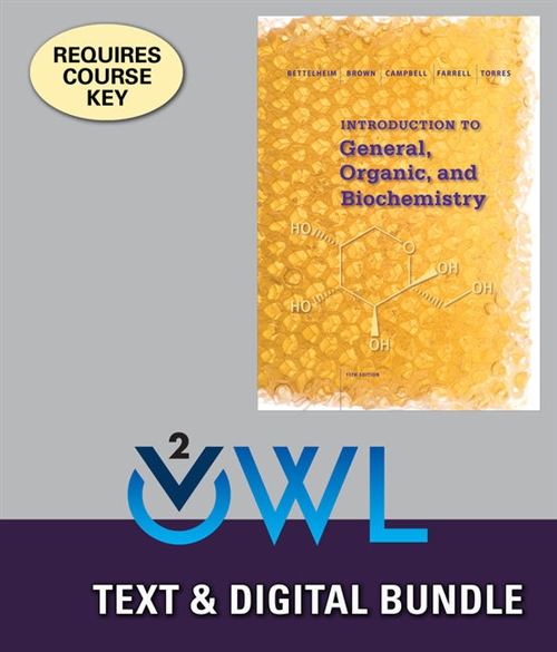 Bundle: Introduction to General, Organic and Biochemistry, 11th + OWLv2, 4 terms (24 months) Printed Access Card