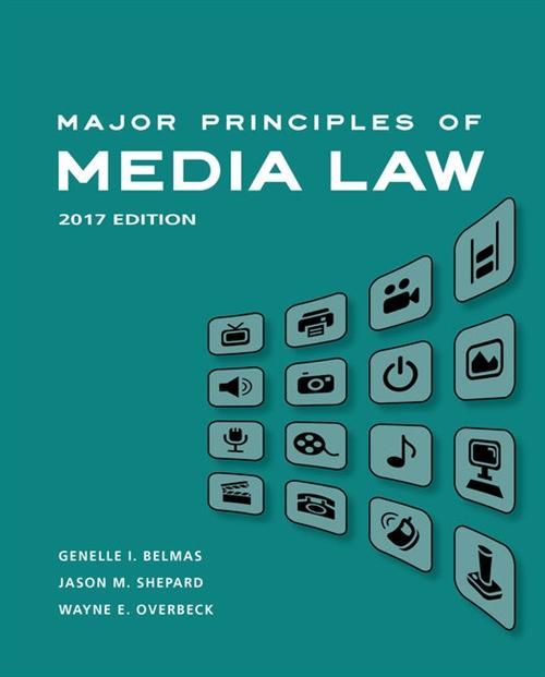 Major Principles of Media Law, 2017