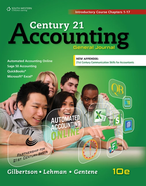 Century 21 Accounting : General Journal, Introductory Course, Chapters 1-17, Copyright Update