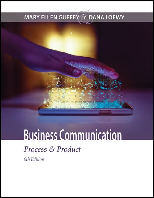 Business Communication : Process & Product