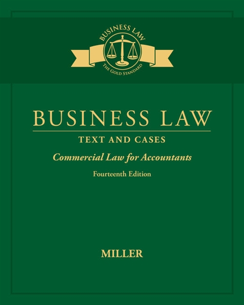 Business Law : Text & Cases - Commercial Law for Accountants
