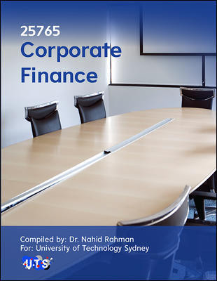 25765 Corporate Finance 6e (Customised)