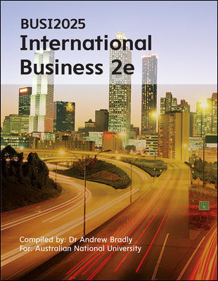 BUSI2025 International Business 2e (Customised)