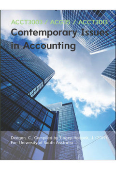 Contemporary Issues in Accounting 2e