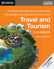 Cambridge International AS and A Level Travel and Tourism Coursebook