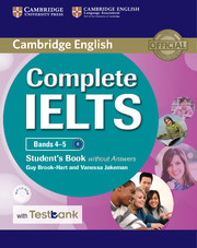 Complete IELTS Bands 4-5 Student's Book without Answers with CD-ROM with Testbank