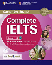 Complete IELTS Bands 5-6.5 Student's Book without Answers with CD-ROM with Testbank