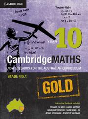 Cambridge Mathematics GOLD NSW Syllabus for the Australian Curriculum Year 10 and Hotmaths Bundle