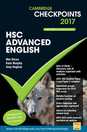 Cambridge Checkpoints HSC Advanced English 2017