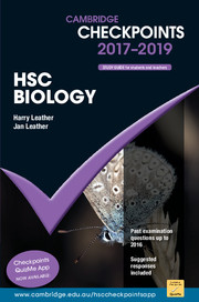 Cambridge Checkpoints HSC Biology 2017-19