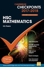 Cambridge Checkpoints HSC Mathematics 2017-19