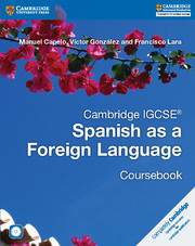 Cambridge IGCSE® Spanish as a Foreign Language Coursebook with Audio CD