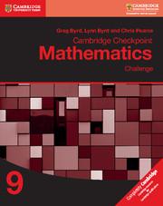 Cambridge Checkpoint Mathematics Challenge Workbook 9